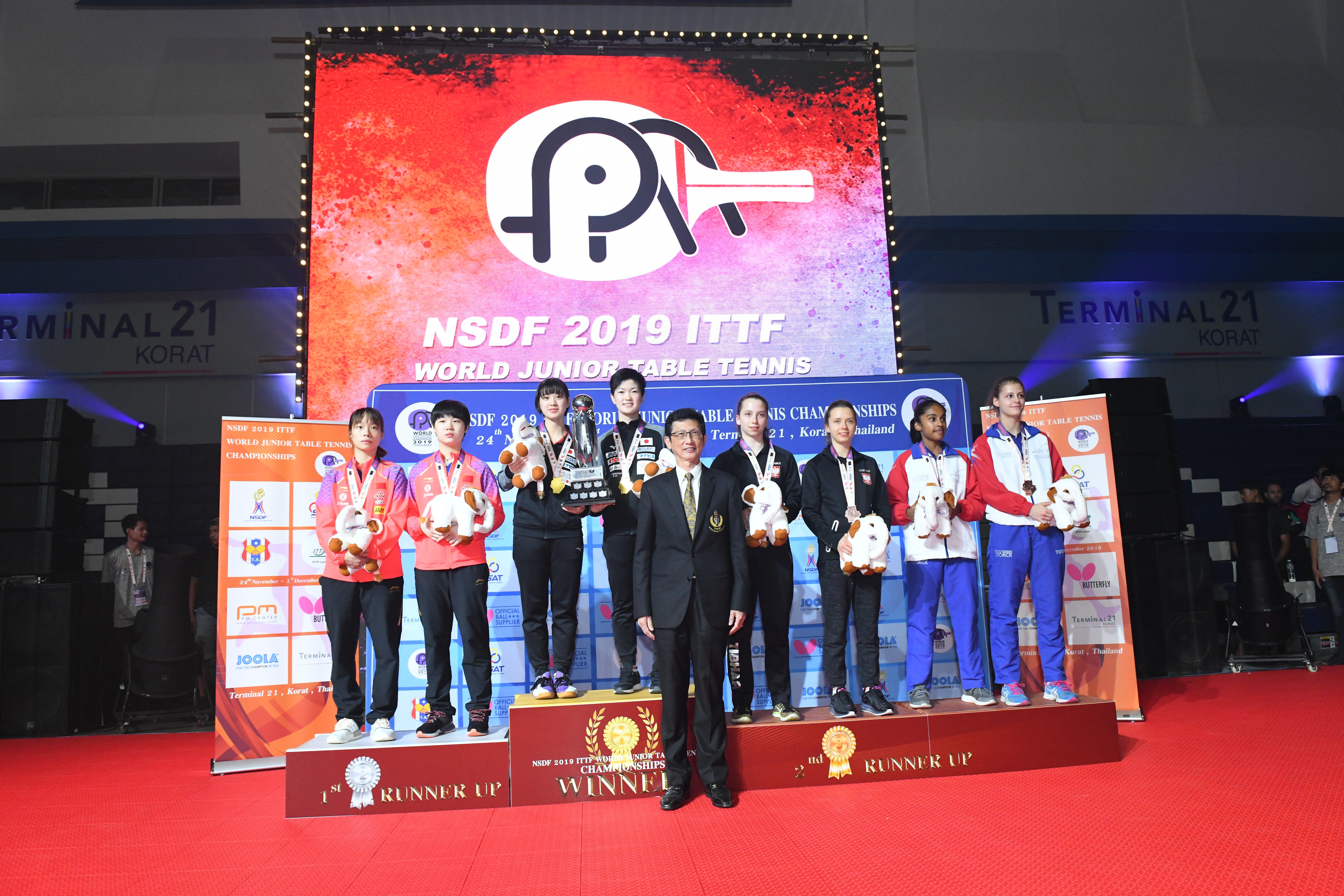 Zawodniczki naszego Klubu zdobyły brązowy medal w Mistrzostwach Świata Juniorek!